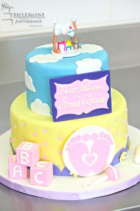 Baby Shower Cakes Montreal ~ Baby shower cakes patisserie tillemont montreal