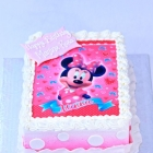 Minnie Mouse avec Ruffles