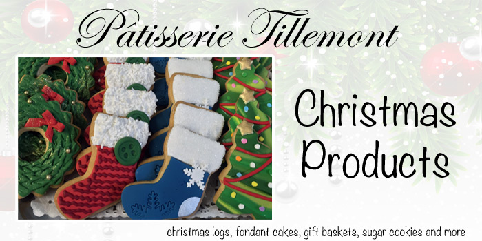Christmas Products - Pâtisserie Tillemont