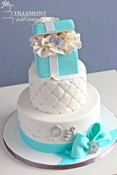 Tiffany And Co Cake Design