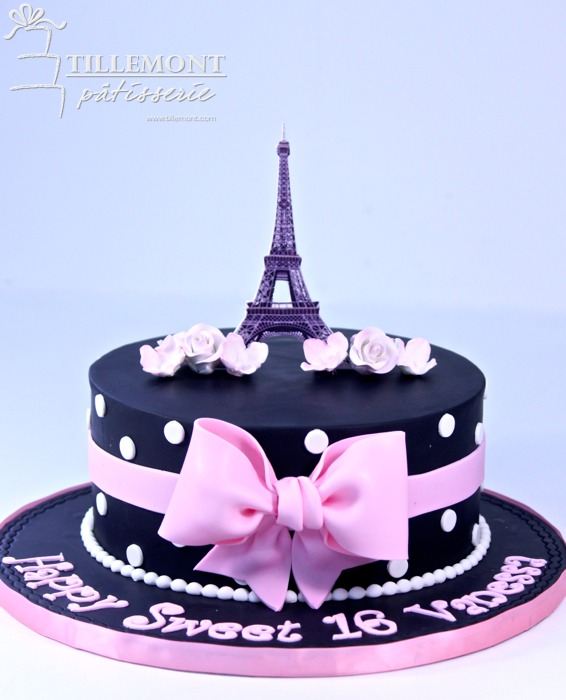 1 Tier Paris Theme