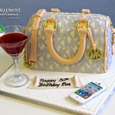 Michael Kors with drink