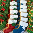 Holiday Stockings Cookies - 3,25$