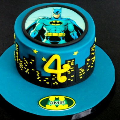 Batman Skyline (fondant)