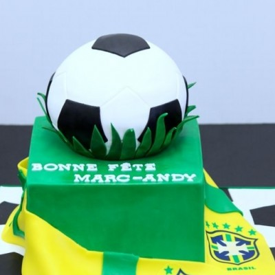 2-tier Brazil Soccer Fan