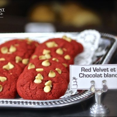 Red Velvet and White Chocolate Chips