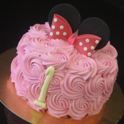 Minnie Mouse rosettes