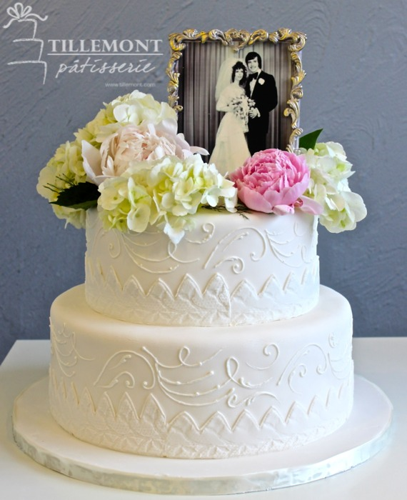 Cake Ideas For Wedding Anniversary: Wedding Anniversary Cakes