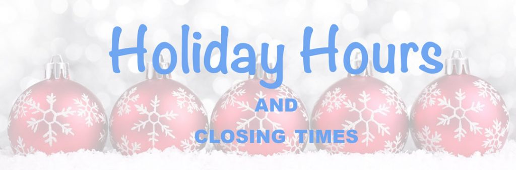 Pâtisserie Tillemont - Holiday Hours