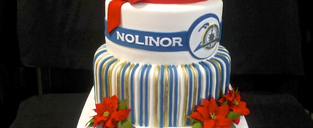 Pâtisserie Tillemont Makes Cake for Nolinor