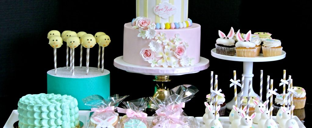 Spring Theme Sweet Table