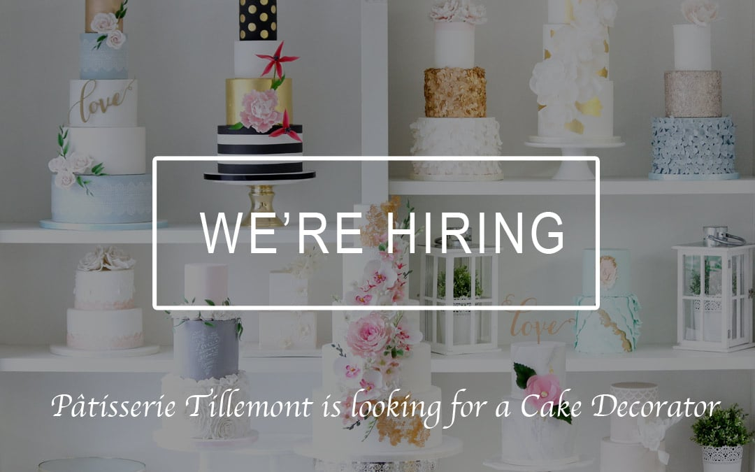 We're Hiring – Looking for a Cake Decorator