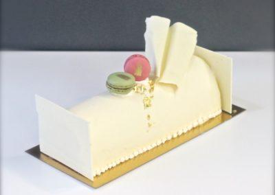 Chocolat blanc et framboises