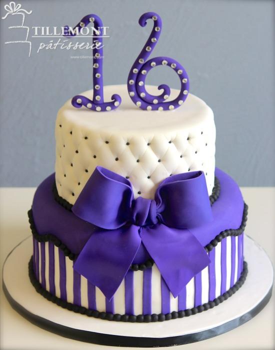 Sweet 16 Cakes Patisserie Tillemont
