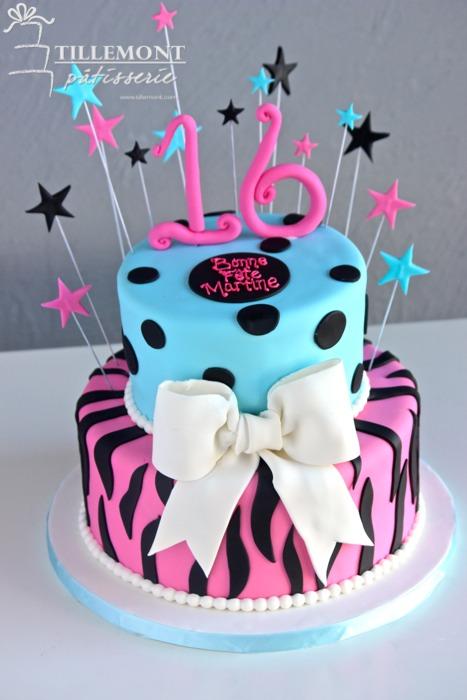 Baby Blue Pink With Zebra