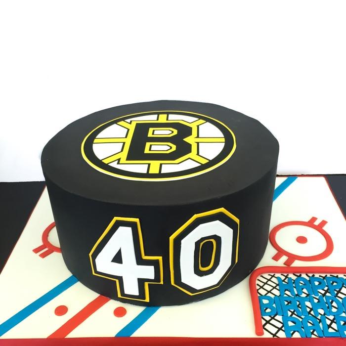 Boston Bruins 40 NHL