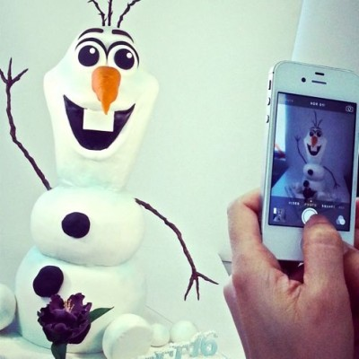 Olaf en 3D