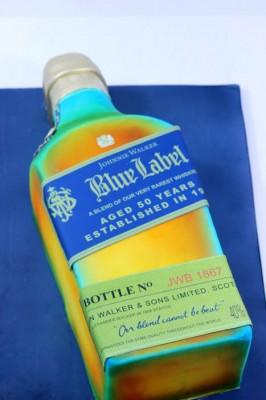 Johnnie Walker Blue Bottle