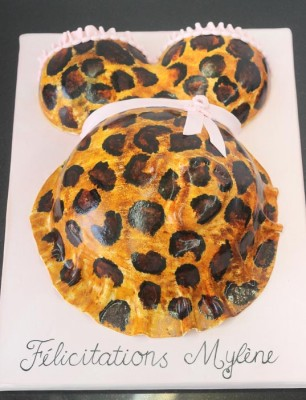 Preggo belly leopard