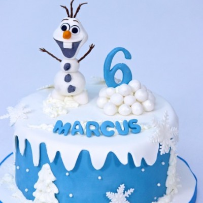 1-tier with 3D Olaf