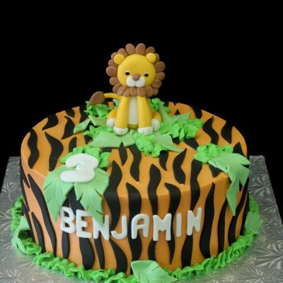 Benjamin's lion