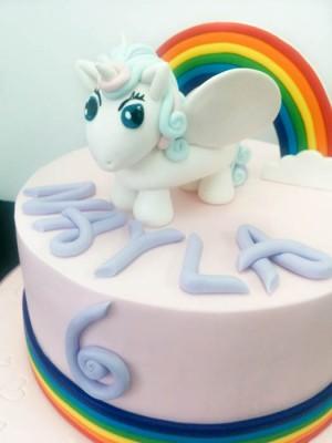 Kayla's unicorn