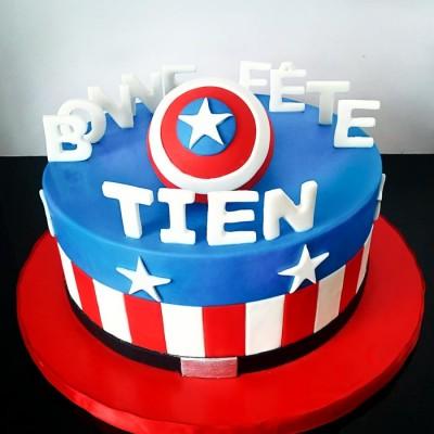 Tien's Captain America