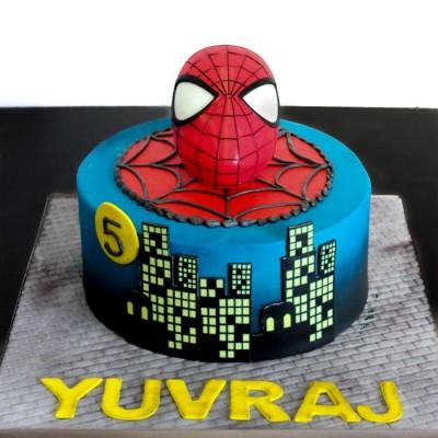Yuvrajs Spiderman