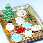 Assortment de biscuits en fondant