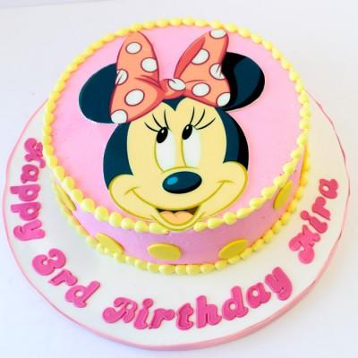 Minnie Mouse en rose