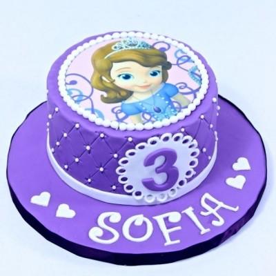Princesse Sofia (fondant)