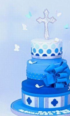 3-tiers Shades of Blue