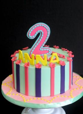 Anna's colourful theme
