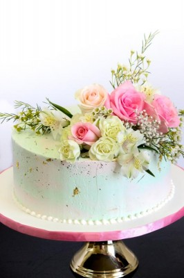 Vintange floral (cream)
