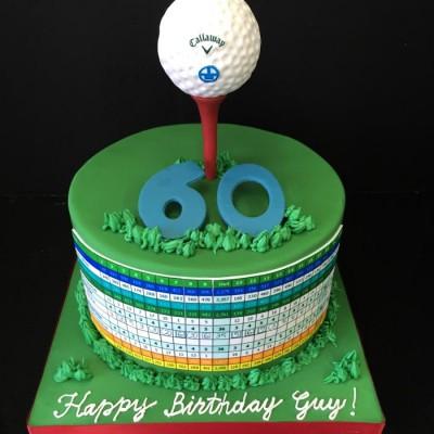 Carte de golf personnalisée
