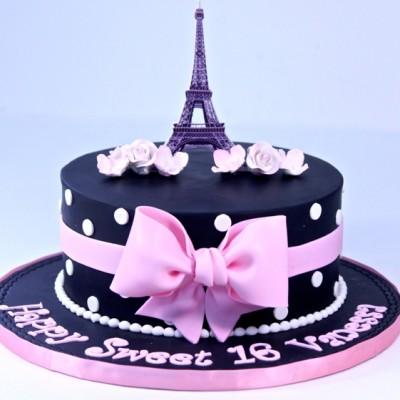 Thème Paris en noir et rose