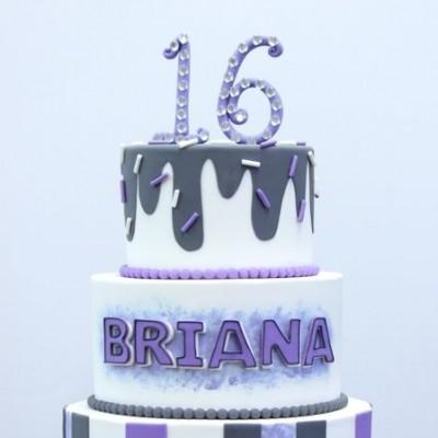 Déco en mauve pour Brianna