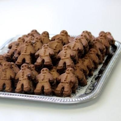 Petits bonhommes au chocolate