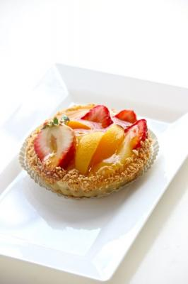 Tartelette with fresh fruits