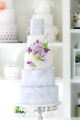 4-tier Soft Purple