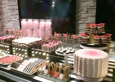 Pâtisserie Tillemont - Table sûcrée Glamour et Maquillage