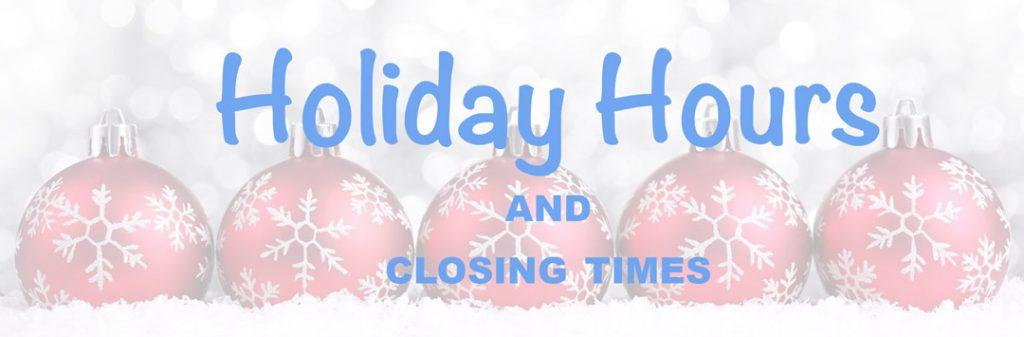 Pâtisserie Tillemont - Holiday Hours